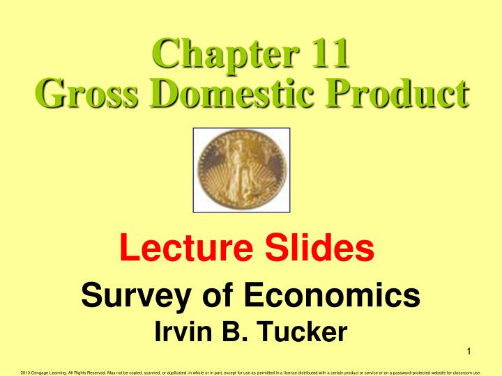 chapter 11 gross domestic product n.