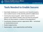 tools needed to enable success2