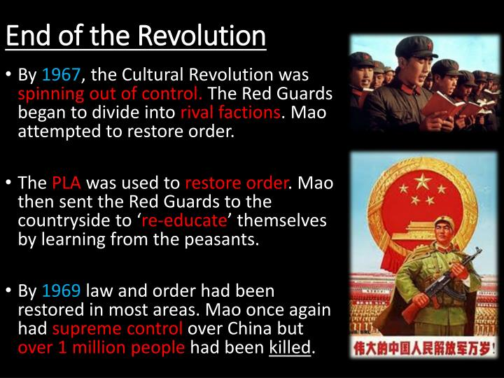 End of the Revolution