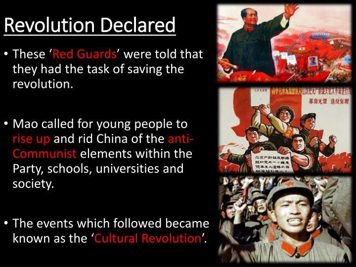 Revolution Declared