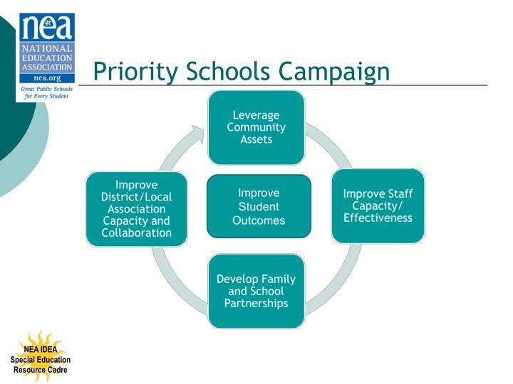 Priority Schools Campaign