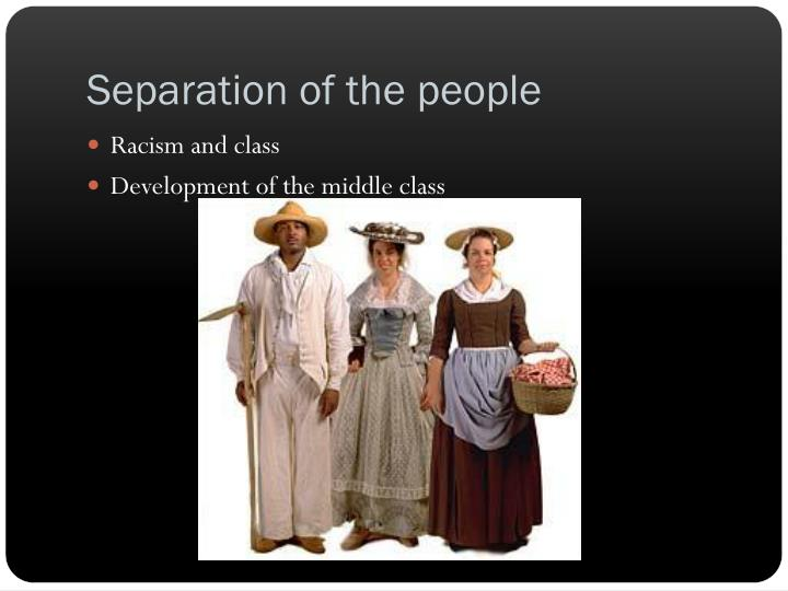 Separation of the people