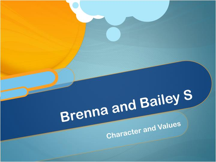 Brenna and bailey s
