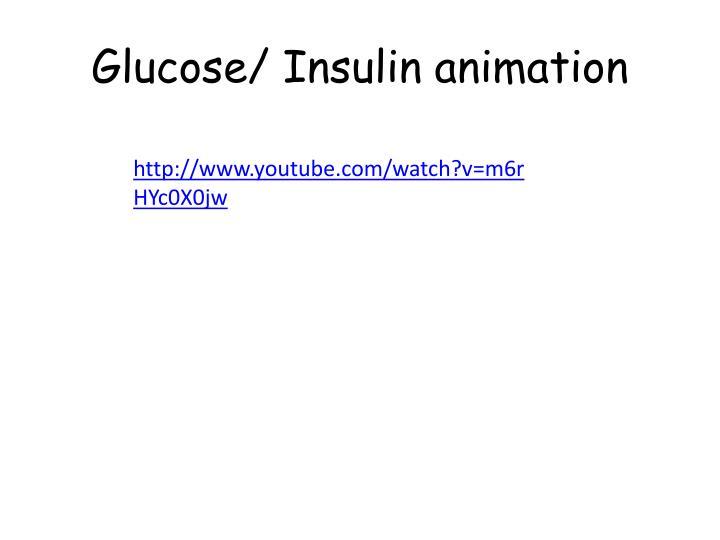 Glucose/ Insulin animation