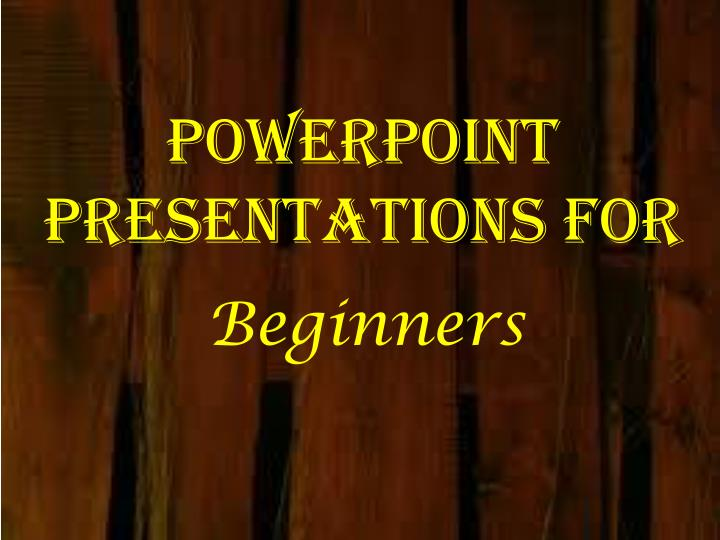 powerpoint presentations for n.