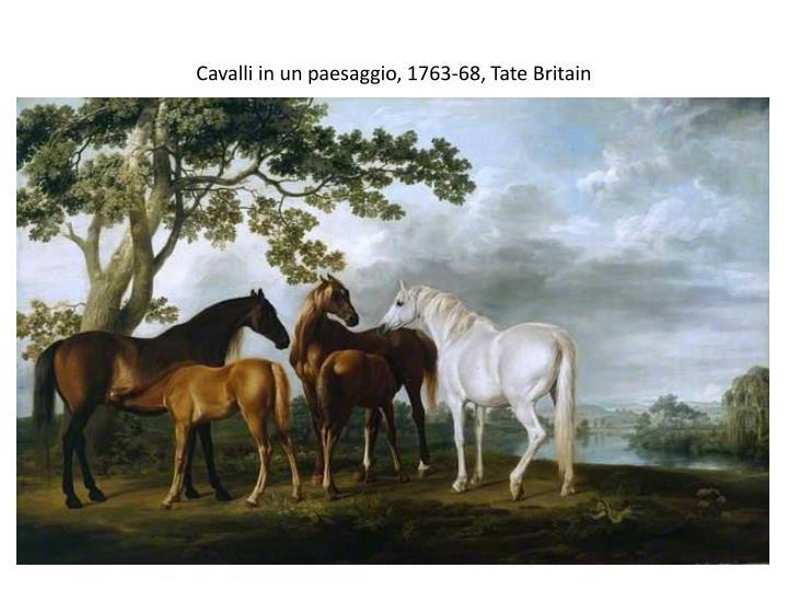 Cavalli in un paesaggio, 1763-68, Tate Britain
