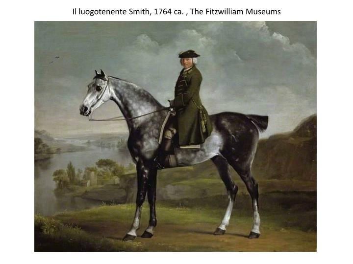 Il luogotenente Smith, 1764