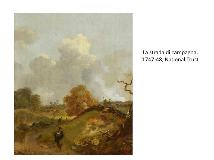 La strada di campagna, 1747-48, National Trust