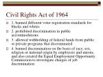 civil rights act of 19641