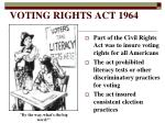 voting rights act 1964