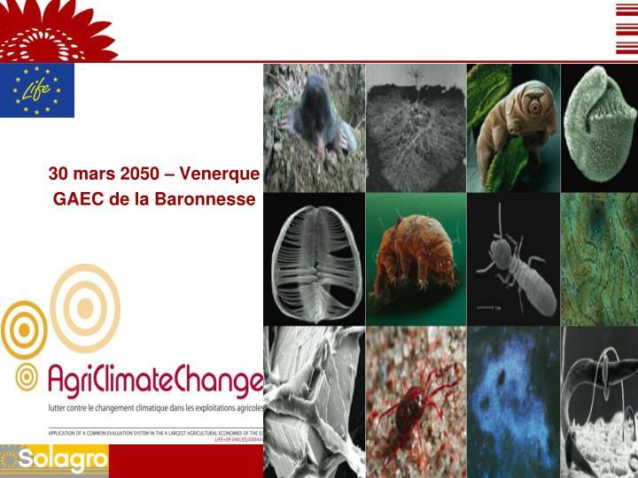 30 mars 2050 – Venerque