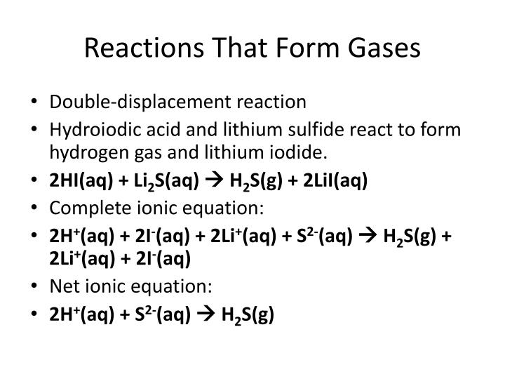 PPT - Types of Chemical Reactions PowerPoint Presentation ...