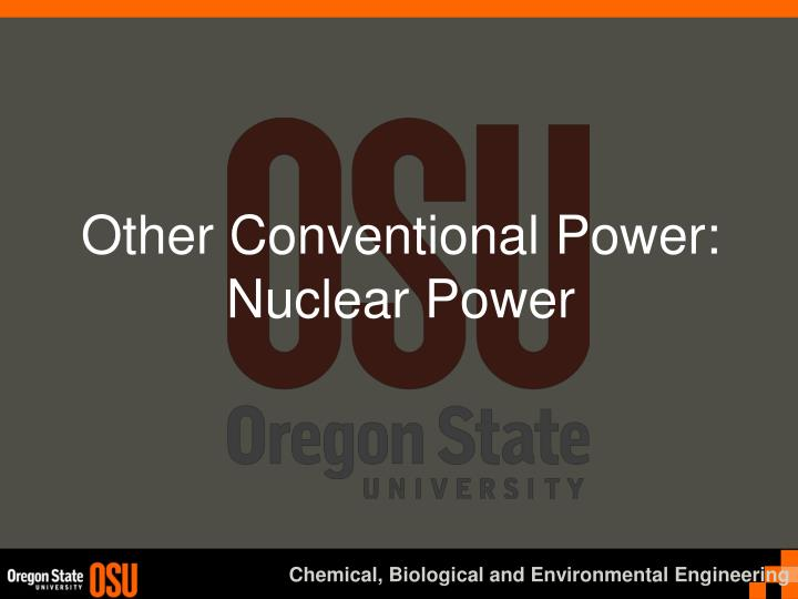 other conventional power nuclear power n.