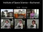 institute of space science bucharest