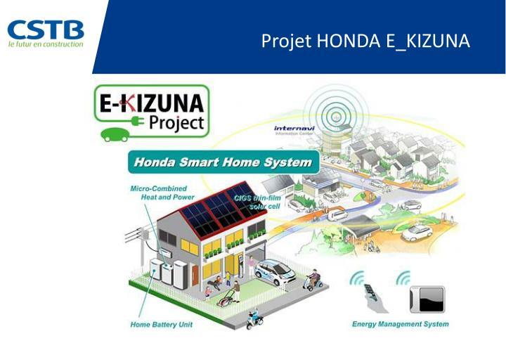 Projet HONDA E_KIZUNA