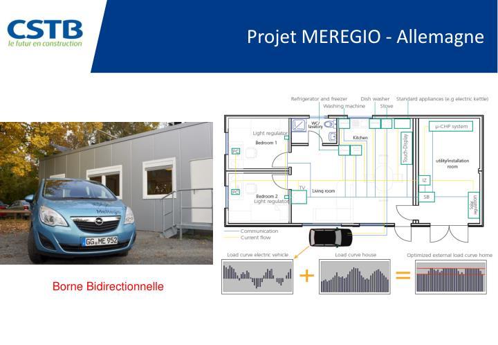 Projet MEREGIO - Allemagne