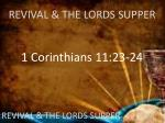 revival the lords supper