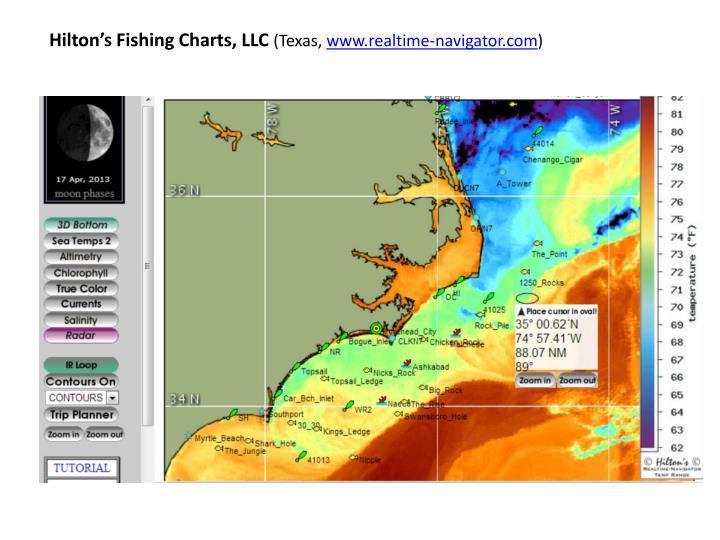Hilton's Fishing Charts, LLC