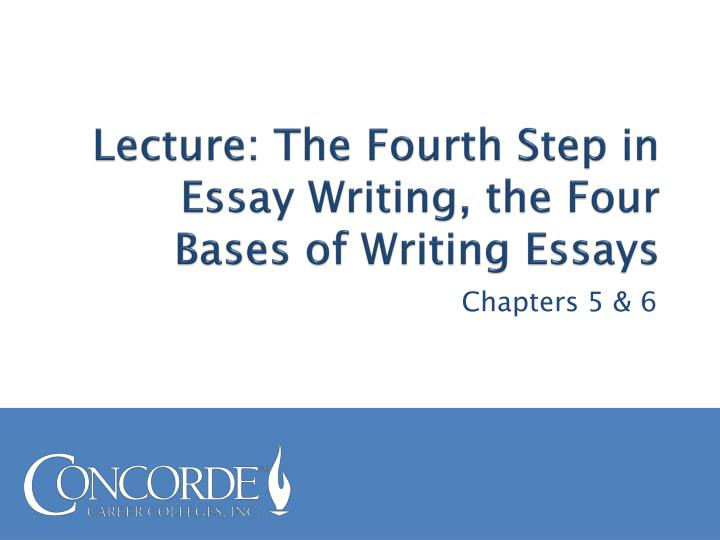 chapter 6 four bases for revising essays Connect online access for college writing skills with readings 9 th edition  chapter 6 four bases for revising essays 144 base 1: unity 145 base 2: support 148.