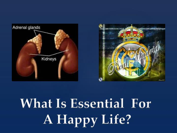 What Is Essential  For