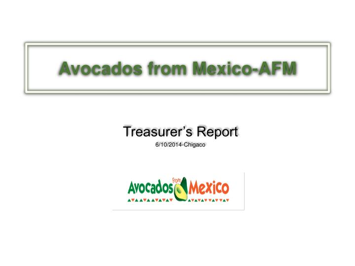 avocados from mexico afm n.