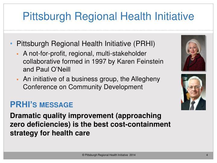 Pittsburgh Regional Health Initiative