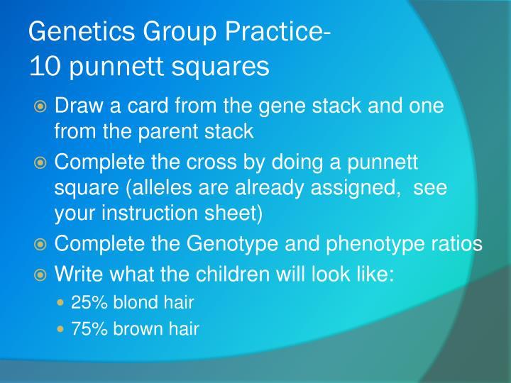 Genetics Group Practice-