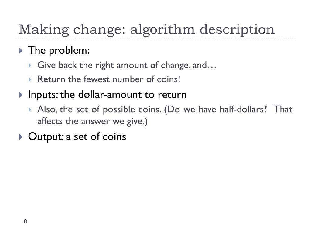 PPT - Greedy Algorithms PowerPoint Presentation - ID:2349061