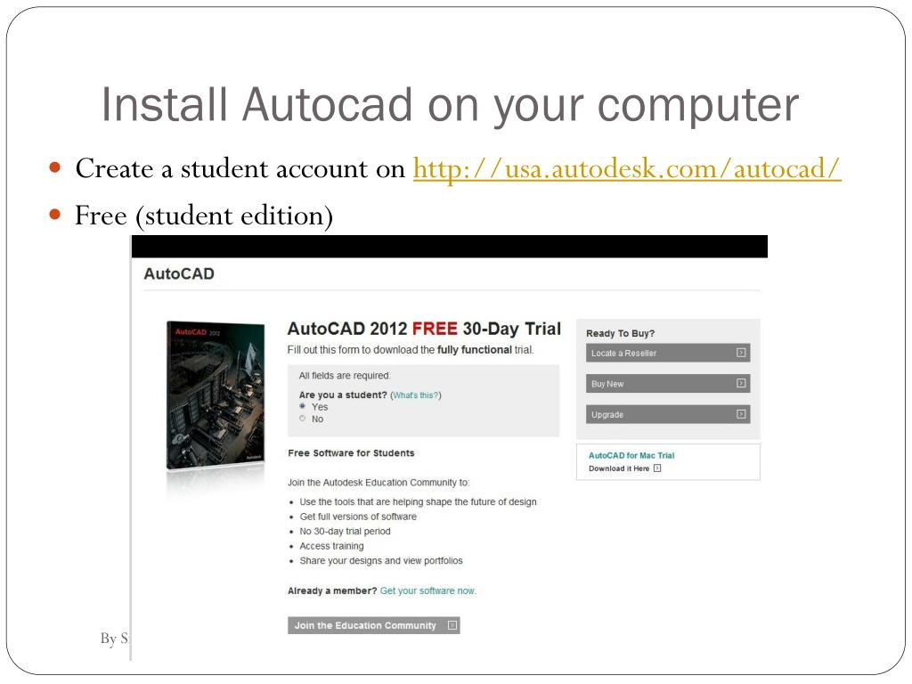 PPT - Autocad lecture 1 Introduction of Autocad and Title Block