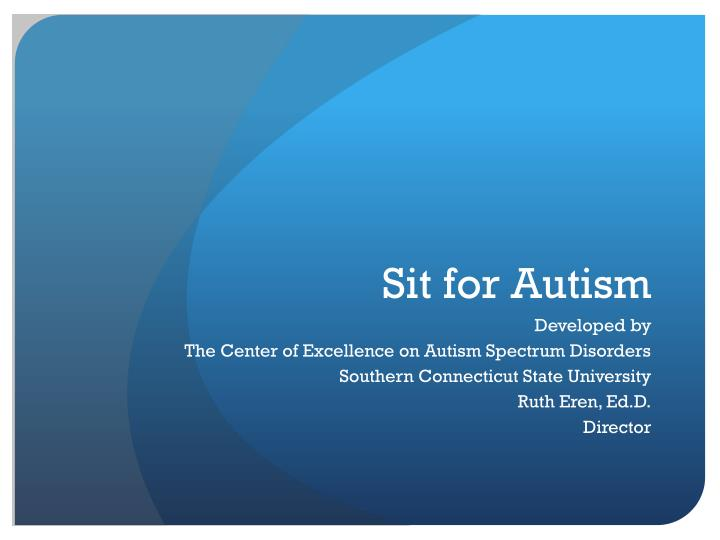 sit for autism n.
