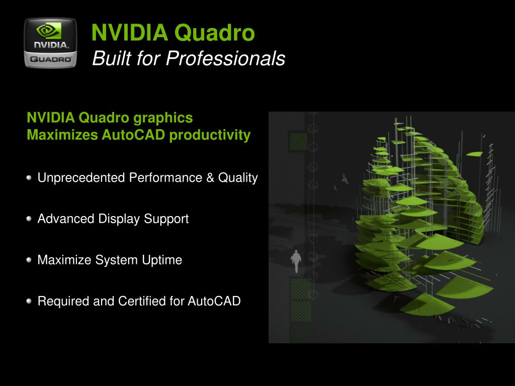 PPT - NVIDIA ® Quadro ® Built for Professionals™ PowerPoint
