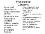 physiological concerns