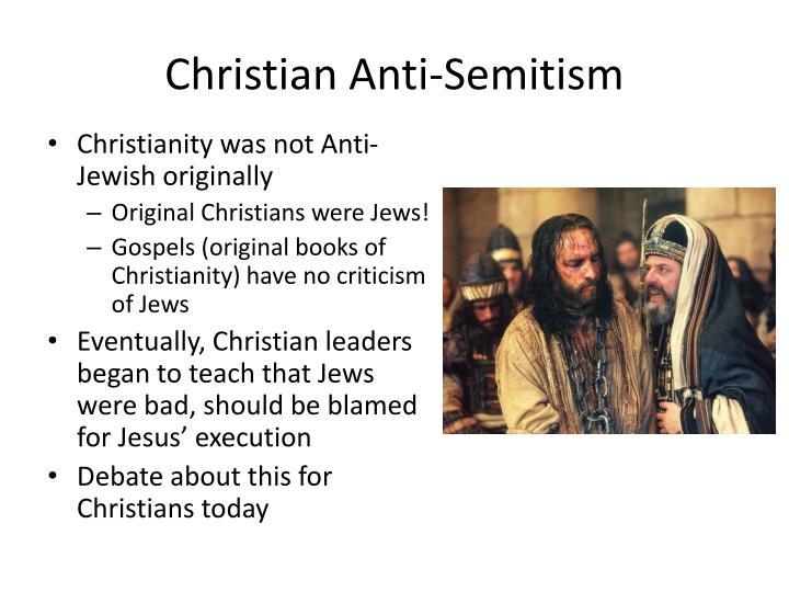 Christian Anti-Semitism