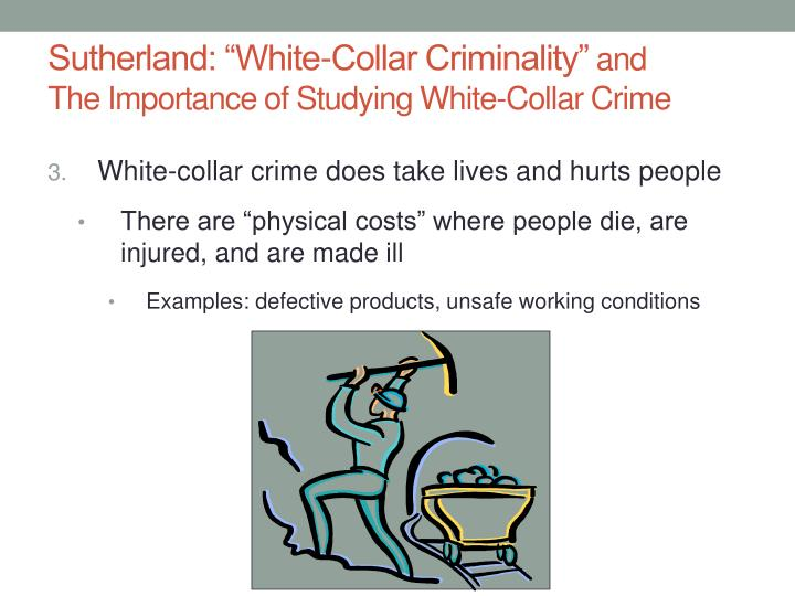 white collar crime and the three theories The theories relevant to the study of white collar crime are labeling theory,   white-collar crime from more traditional criminal areas [3] crime.