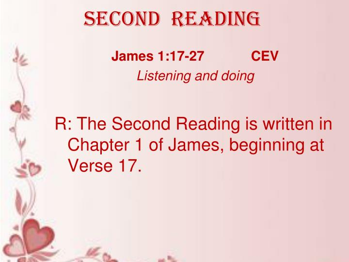 SECOND  READING
