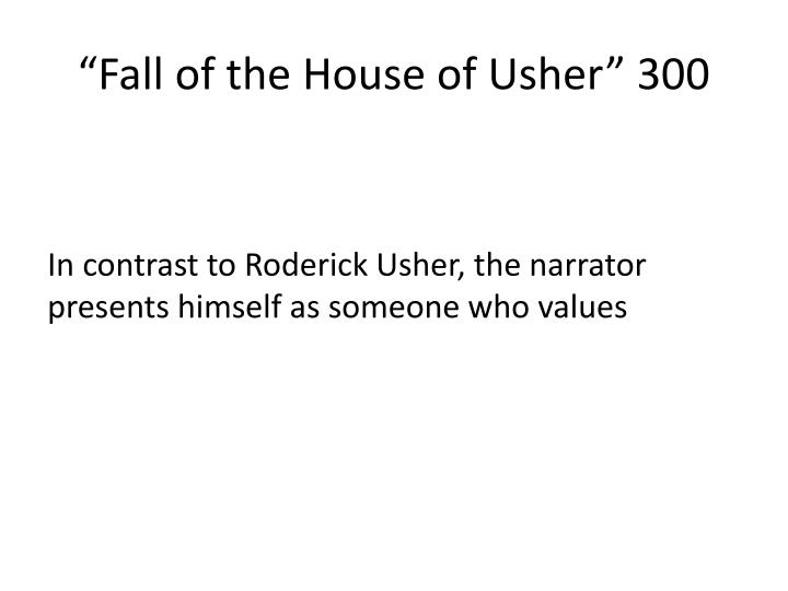 """""""Fall of the House of Usher"""" 300"""