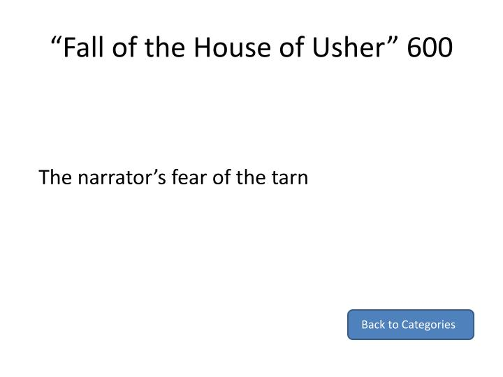 """""""Fall of the House of Usher"""" 600"""