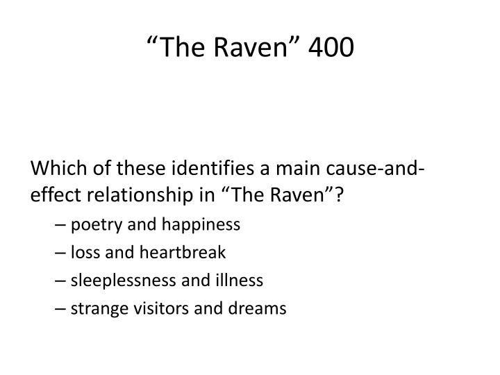 """The Raven"" 400"