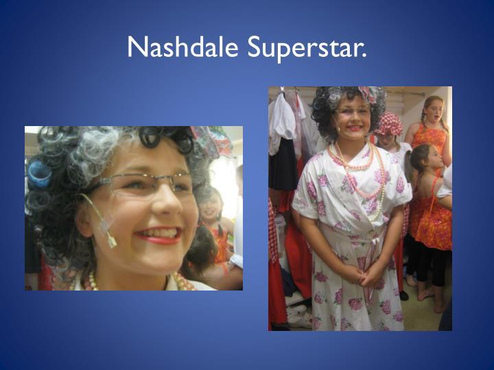 Nashdale Superstar.