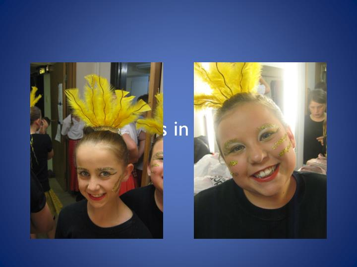 Show girls in the making!