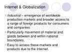 internet globalization