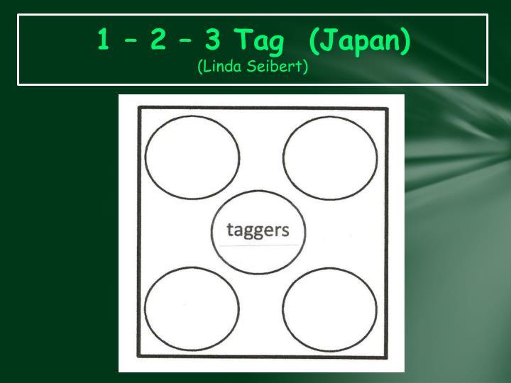 1 – 2 – 3 Tag  (Japan)