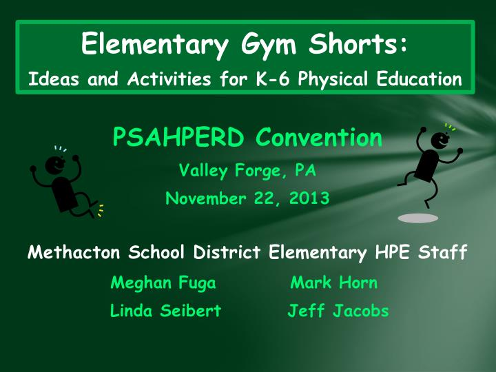 Elementary gym shorts ideas and activities for k 6 physical education