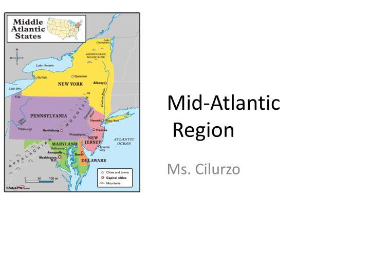 mid atlantic region n.