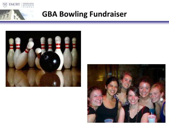 GBA Bowling Fundraiser