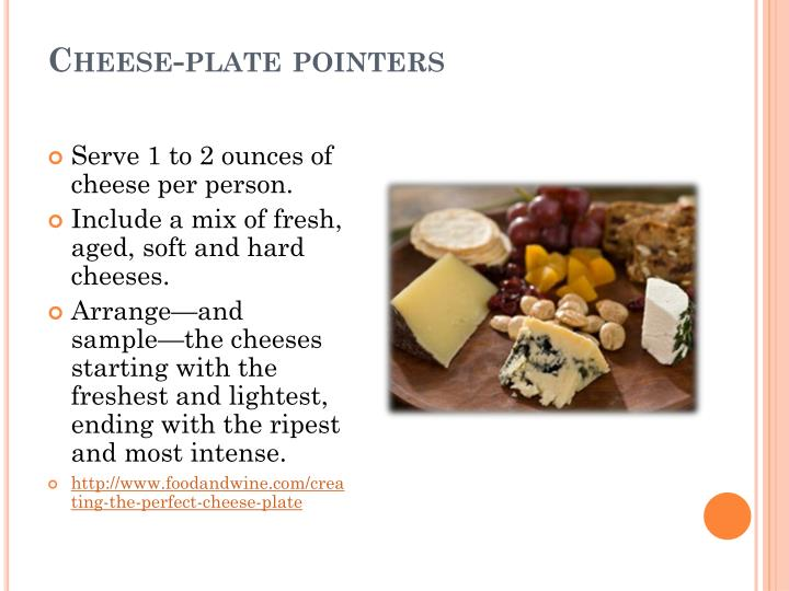 Cheese-plate pointers
