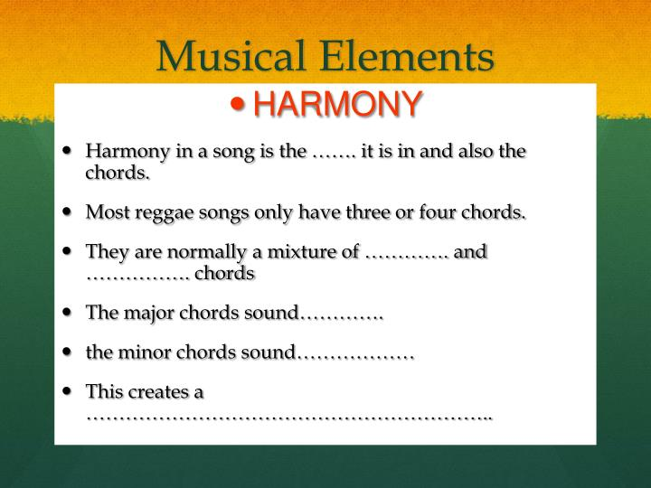 Musical Elements
