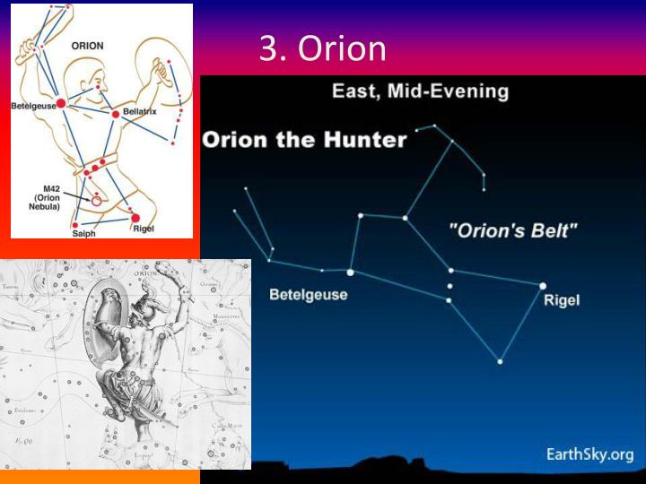 3. Orion
