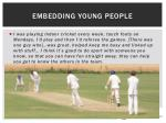 embedding young people