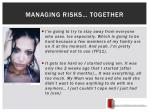 managing risks together